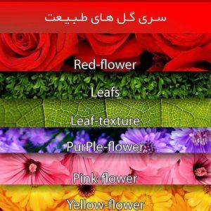 برپوش گل های طبیعت سری طرح