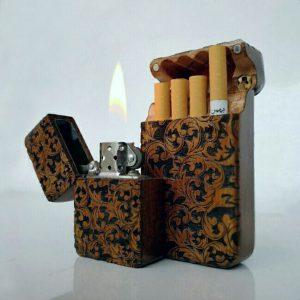 فندک و جاسیگاری چوبی چوبیسم