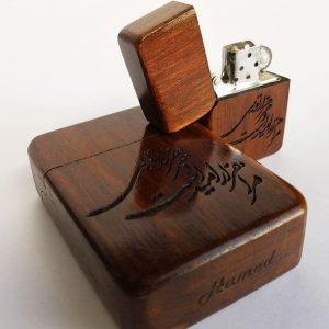 جا سیگاری چوبی سفارش ساخت ایران