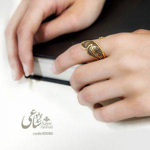 انگشتر قلم زنی
