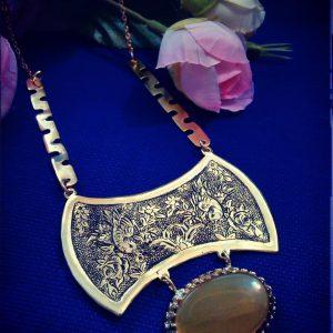 گردنبند قلم زنی سفارش ساخت ایران