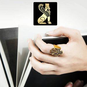 انگشتر قلم زنی سفارش ساخت ایران