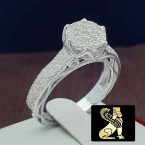 انگشتر نقره زنانه سفارش ساخت ایران