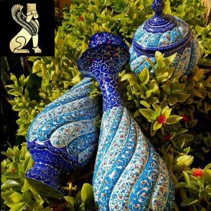 گلدان مینا کاری سفارش ساخت ایران