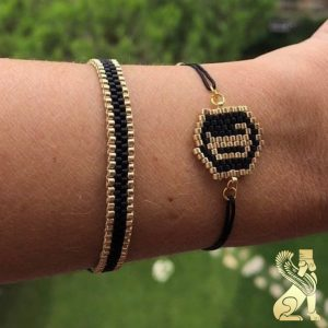 دستبند منجوق دستساز سفارش ساخت ایران