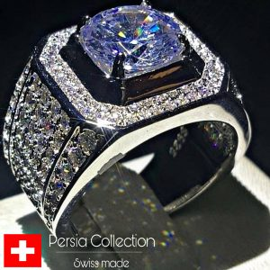 انگشتر طلا سفید w1433